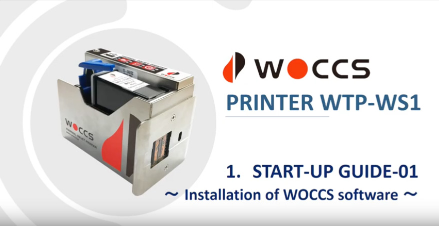Start-up Guide-01: Installation of WOCCS Software