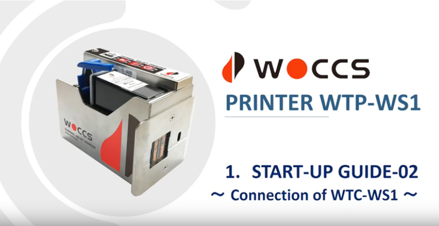 Start-up Guide-02: Connection of WTP-WS1